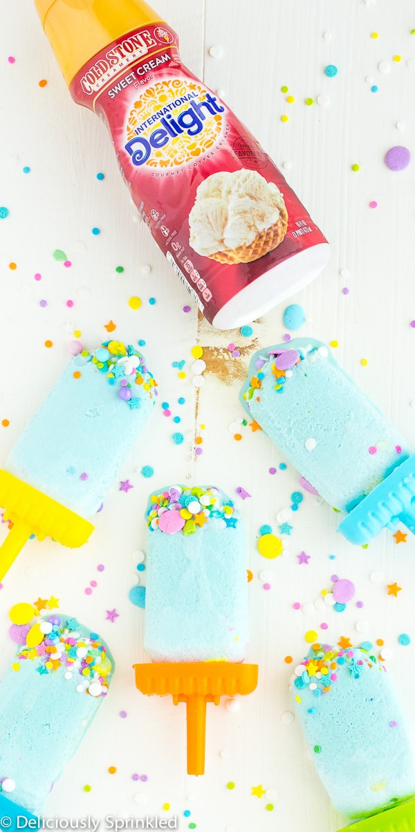 Funfetti Popsicles