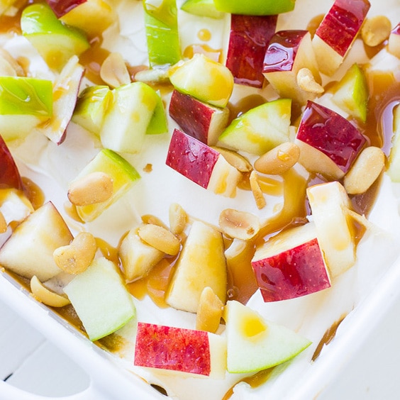 Caramel Apple Pudding