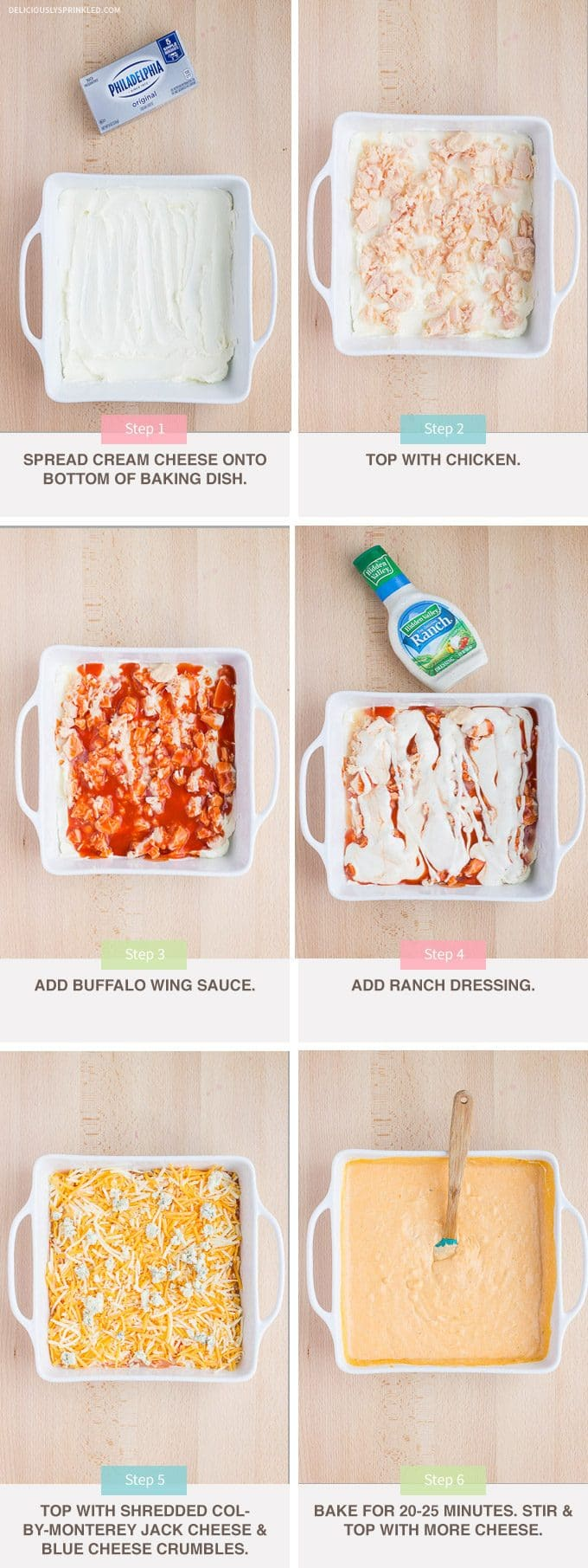 How To Make Buffalo Chicken Dip