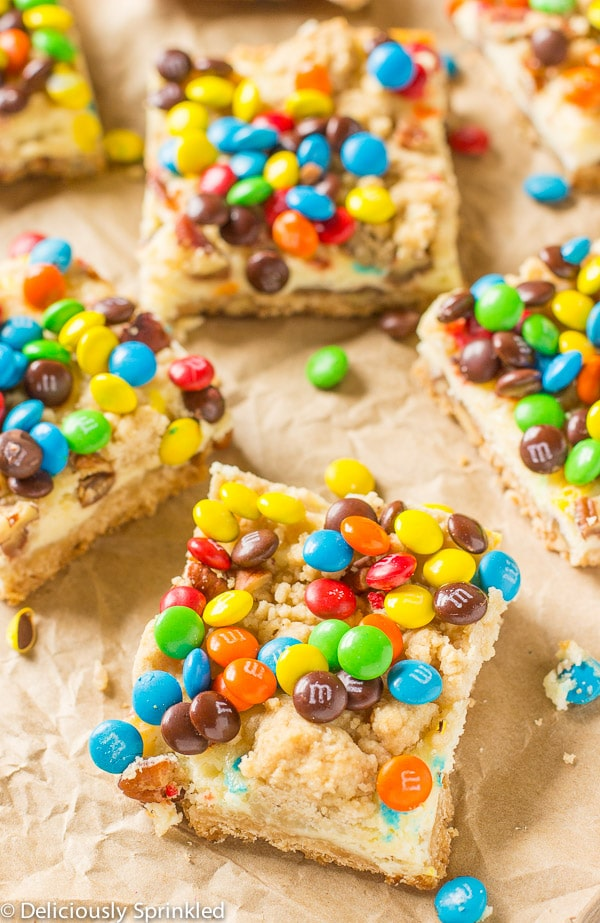 M&M Cookie Bar Recipe