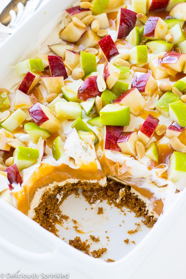 CARAMEL APPLE PUDDING RECIPE