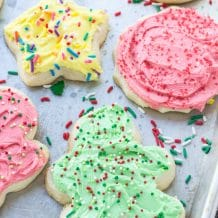 The Best Christmas Cut-Out Cookies Frosting