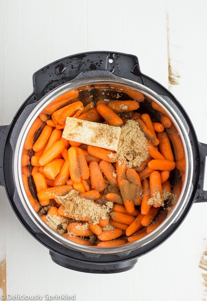 Instant Pot Glazed Carrots