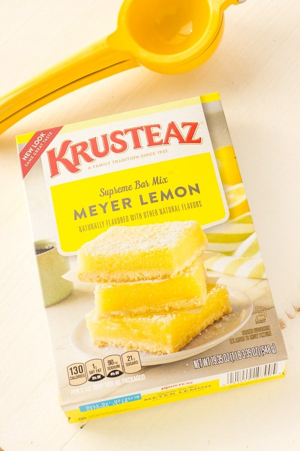 KRUSTEAZ LEMON BARS MIX
