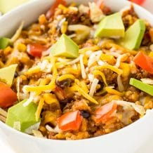 Instant Pot Burrito Bowls Recipe