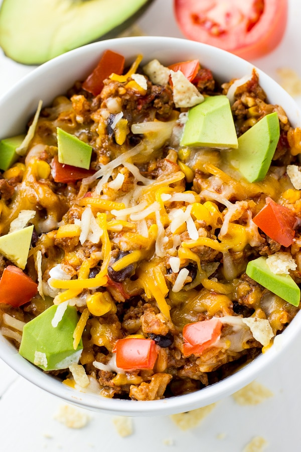 Instant Pot Burrito Bowls Recipe