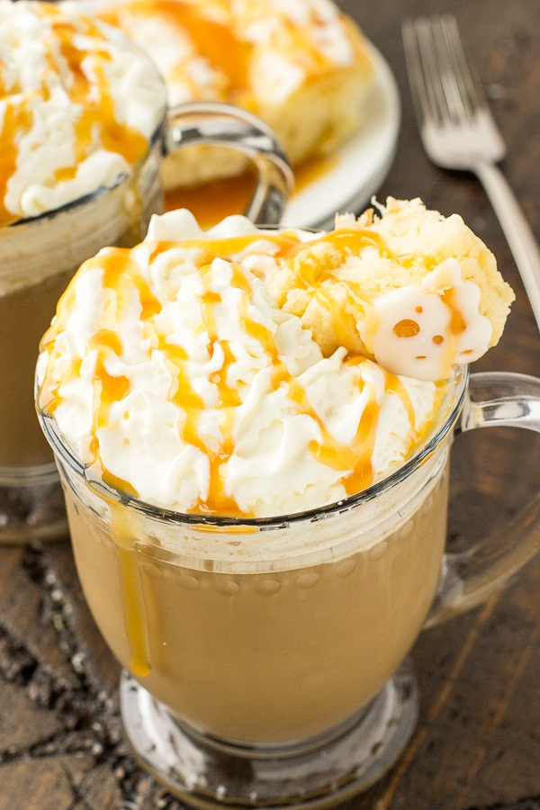 Caramel Coffee Cake Latte Deliciously Sprinkled