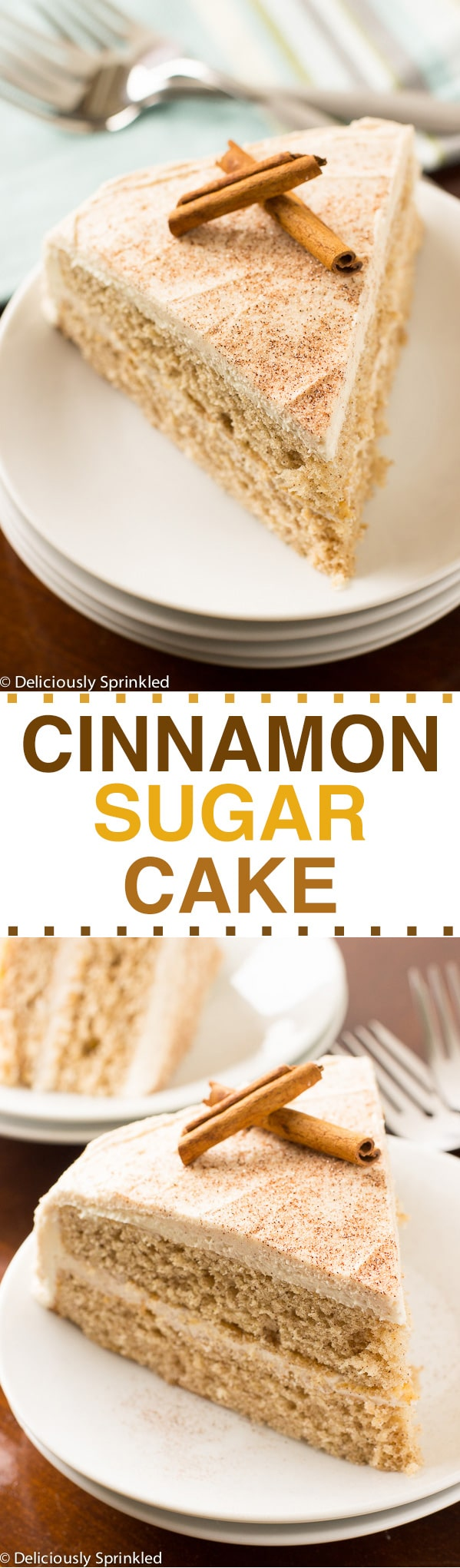 Cinnamon Sugar Cake Recipe