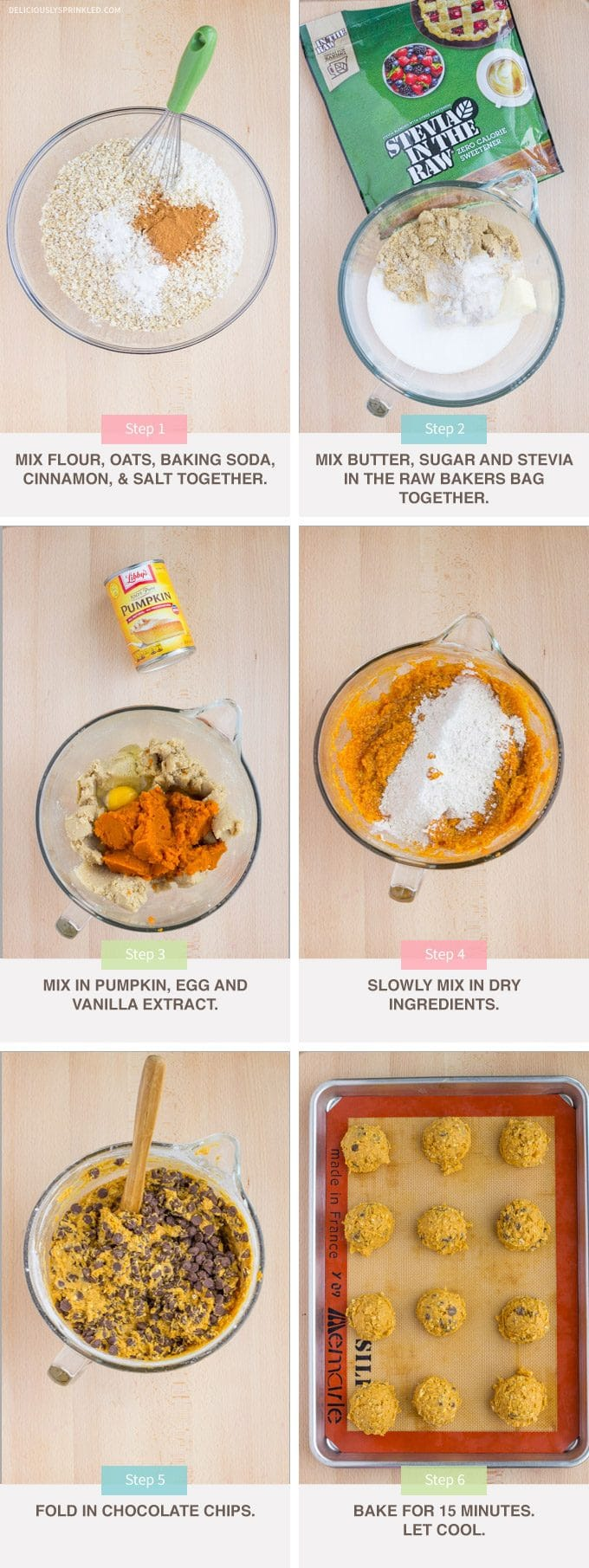 How To Make Pumpkin Chocolate Chip Cookies