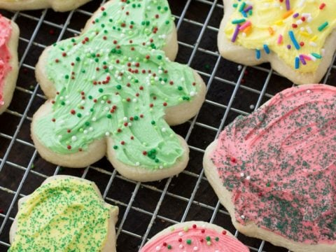 Christmas Cut Out Cookies.Christmas Cut Out Cookies