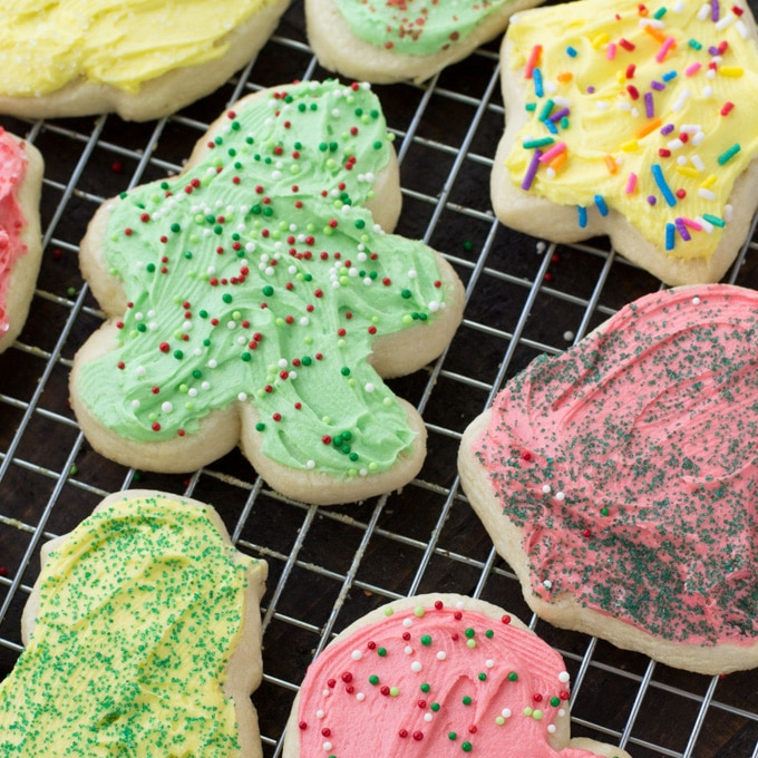 Christmas Cut Out Cookies