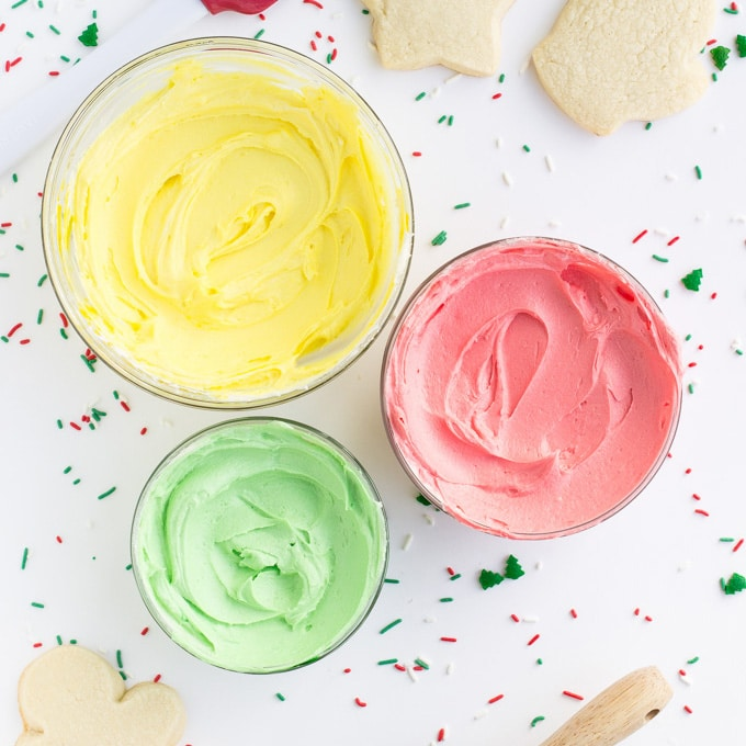 The Best Sugar Cookie Frosting