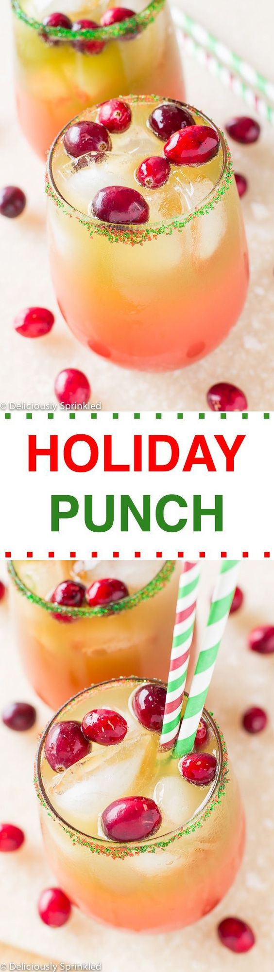 THE BEST HOLIDAY PUNCH RECIPE