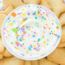 Sugar Cookie Dip Recipe on deliciouslysprinkled.com
