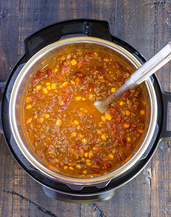 Slow Cooker Taco Soup Instant Pot Taco Soup