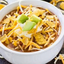 Slow Cooker Taco Soup Instant Pot Taco Soup