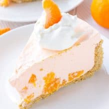 No Bake Orange Cream Pie