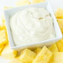 Pineapple Fruit Dip