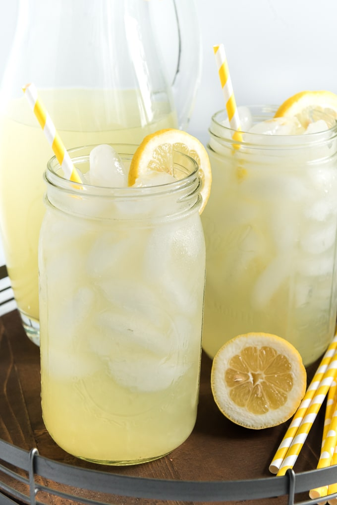 HOMEMADE LEMONADE RECIPE BEST FRESH SQUEEZED LEMONADE