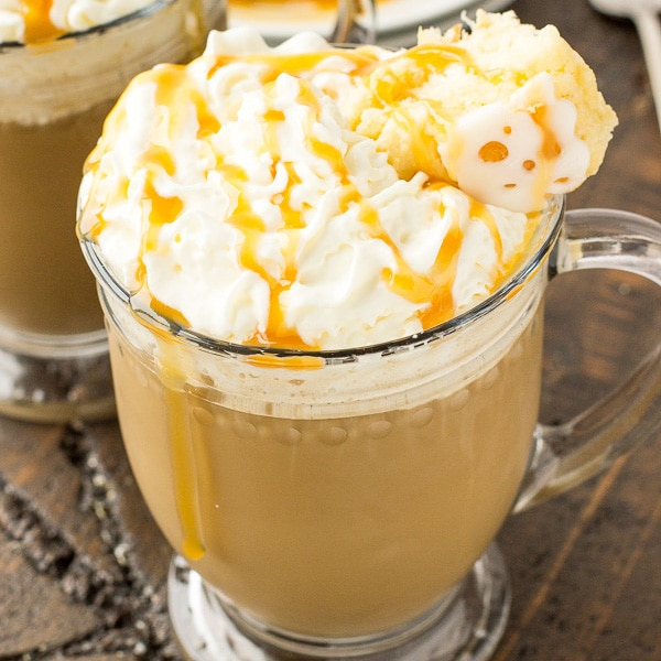 Caramel Coffee Cake Latte