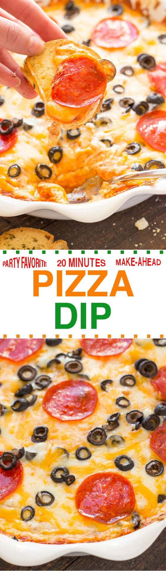 EASY PIZZA DIP RECIPE