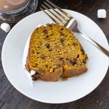 Hot Chocolate Pumpkin Cake Recipe