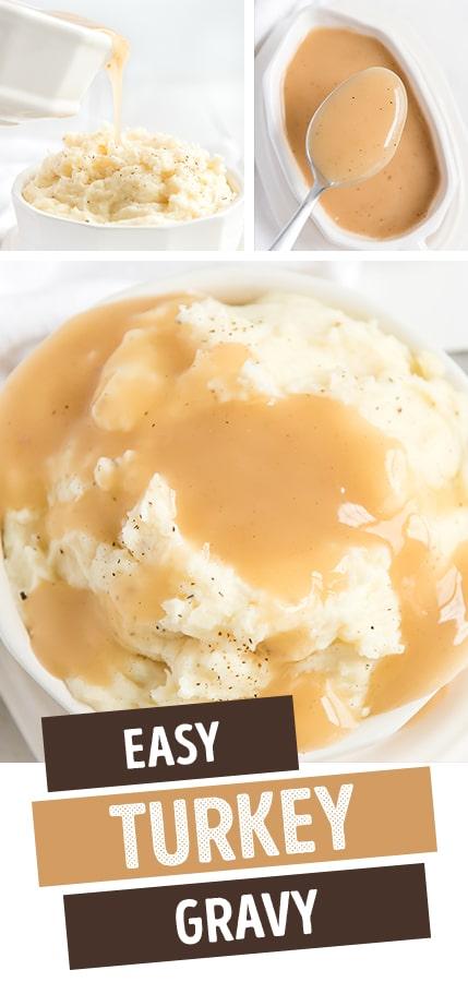 turkey gravy recipe pinterest image