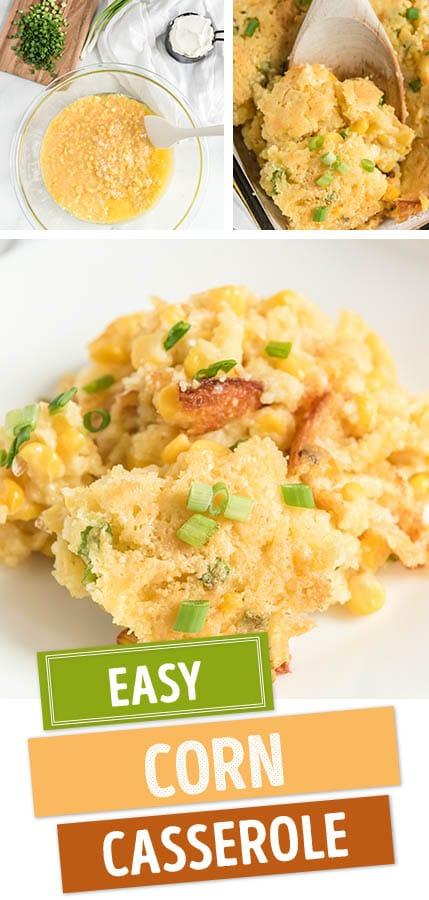 corn casserole recipe pinterest image