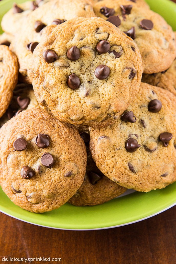 Best Homemade Chocolate Chip Cookies Deliciously Sprinkled