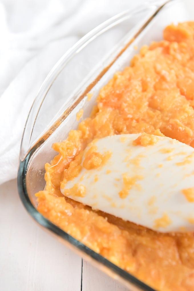 add yam layer for sweet potato casserole