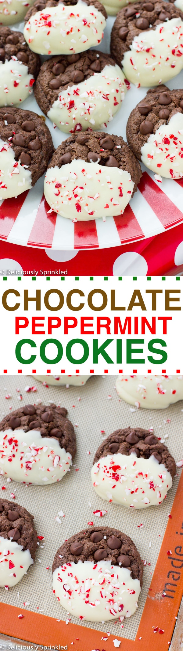 chocolate peppermint cookies recipe