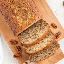 THE BEST BANANA NUT BREAD RECIPE