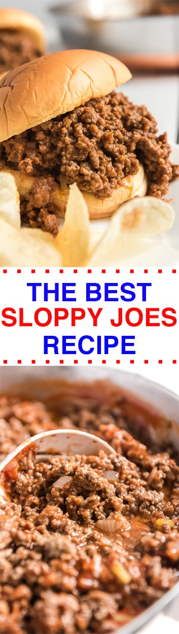 THE BEST SLOPPY JOES RECIPE