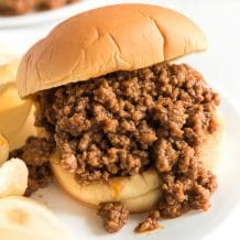 THE BEST SLOPPY JOES RECIPE