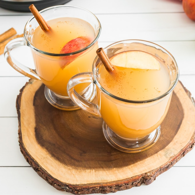 INSTANT POT APPLE CIDER
