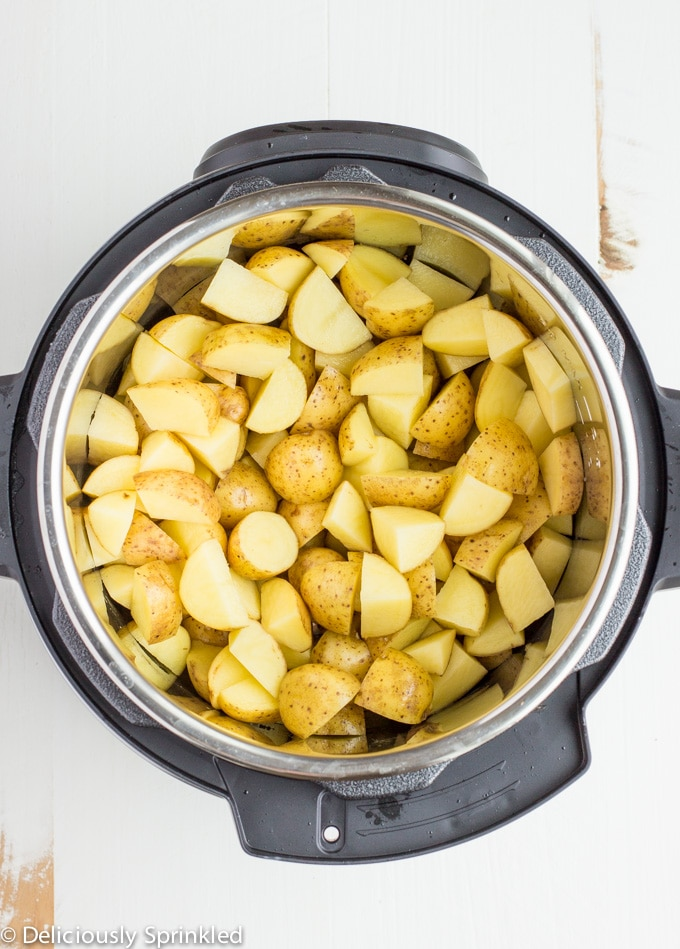 potatoes in instant pot for mashed potatoes