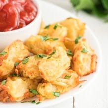 featured image for air fryer tater tots