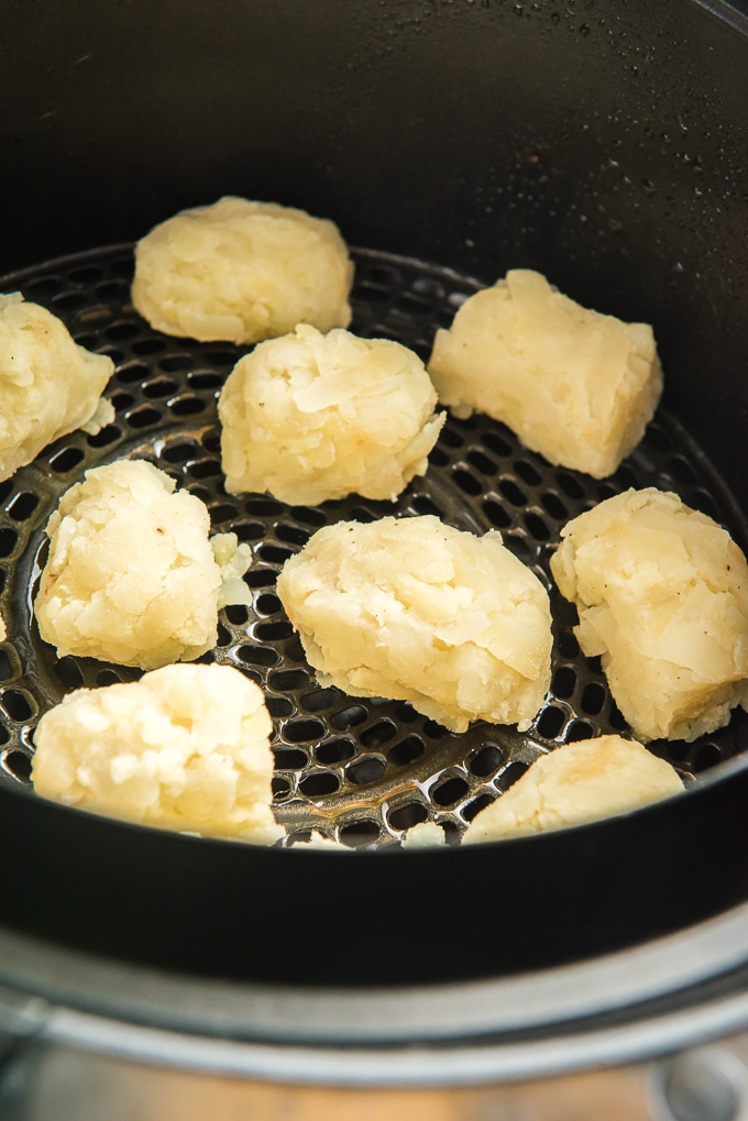 air fryer tater tots cooking