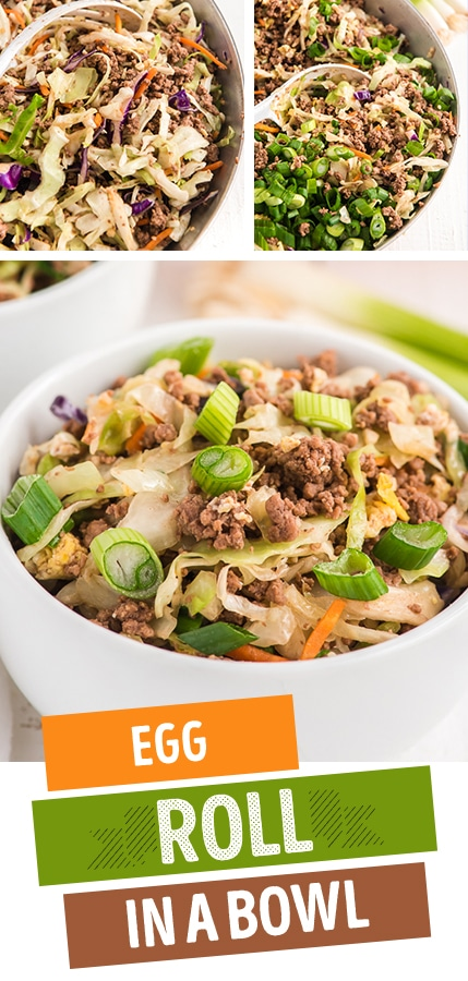 easy egg roll in a bowl recipe