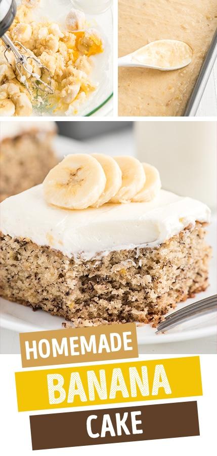 The Best Homemade Banana Cake Recipe
